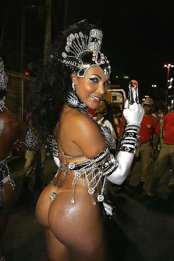 Brazilan girl on carnival