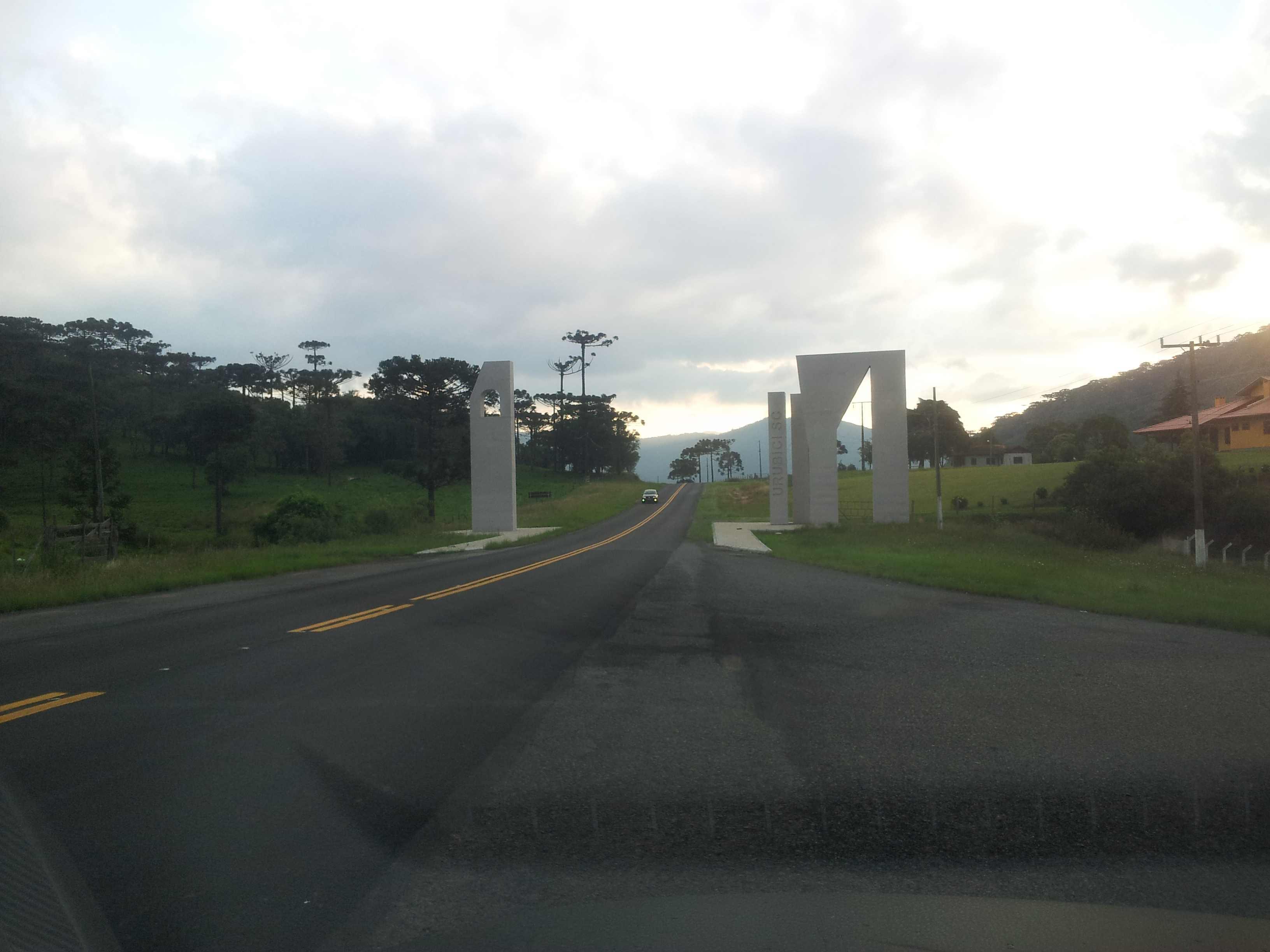 Entrance to Urubici