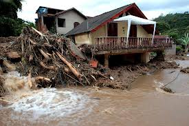 House washed away in Brazil
